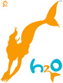 Logo do blog H2O 인어