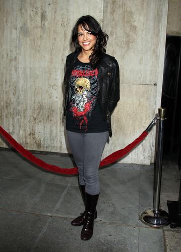 Michelle Rodriguez @ LA Machete Premiere  - 25 AUG 2010