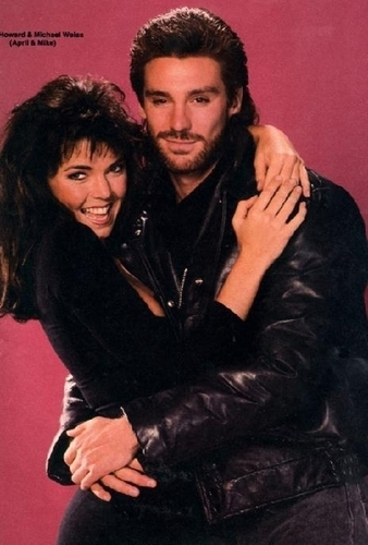 Days of Our Lives wallpaper called Mike and April