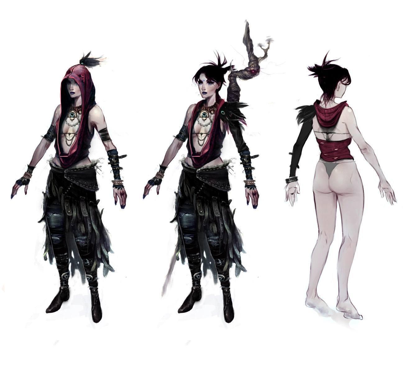 dragon age origins morrigan