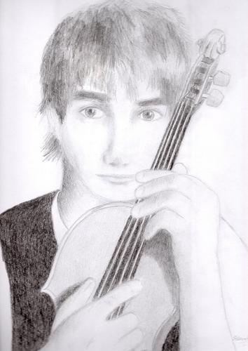 My NEW drawing of Alex:)