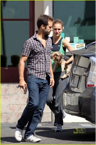 Natalie Portman & Benjamin Millepied: Check-Up for Whiz!