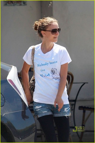 Natalie Portman: Shopping with Benjamin Millepied!