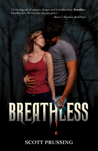rekomendasi buku wallpaper called New vampire novel Breathless