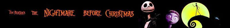 Nightmare Before Christmas Banner - Nightmare Before ...