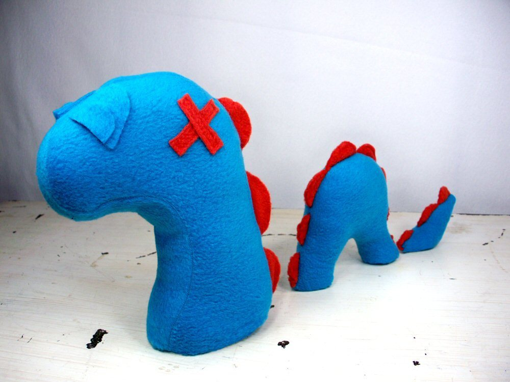 Plush Nessie