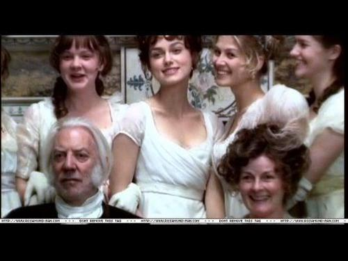 Pride & Prejudice- behind the scenes