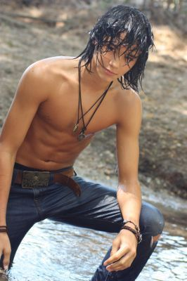Boo Boo Stewart wallpaper called SHIRTLESS BOOBOO