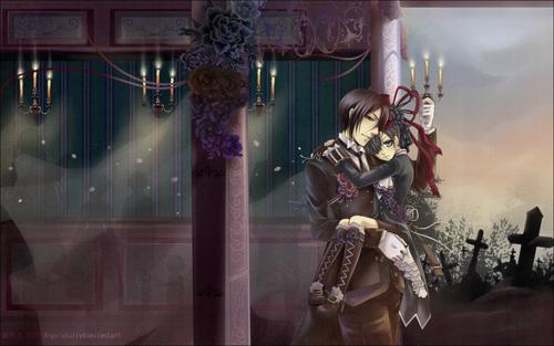 Sebastian and Ciel