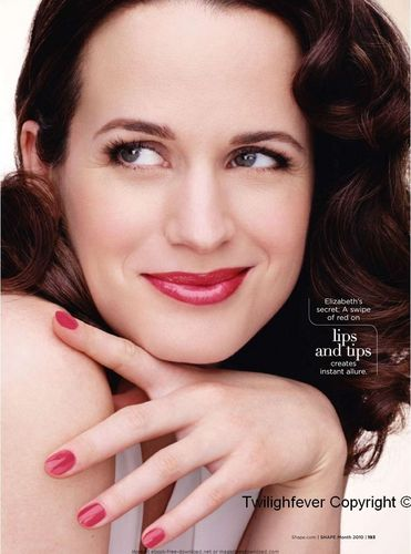 Elizabeth Reaser wallpaper entitled Shape Magazine
