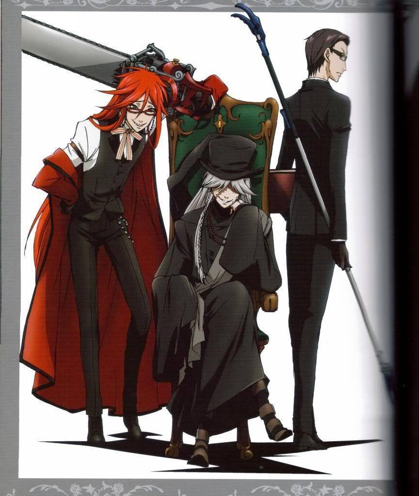 Anime Review: Kuroshitsuji (Black Butler) season I | Got ...