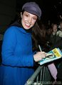 Stage Door Autographs with Sierra
