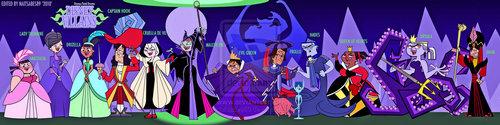 TDI 디즈니 Villains