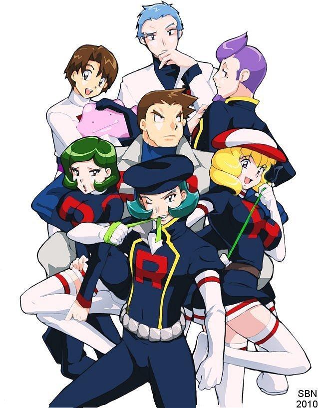 Rocket Pokemon Pokémon Team Rocket