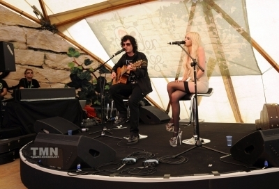 The Pretty Reckless: August 21: V Festival Virgin Media louder lounge VIP