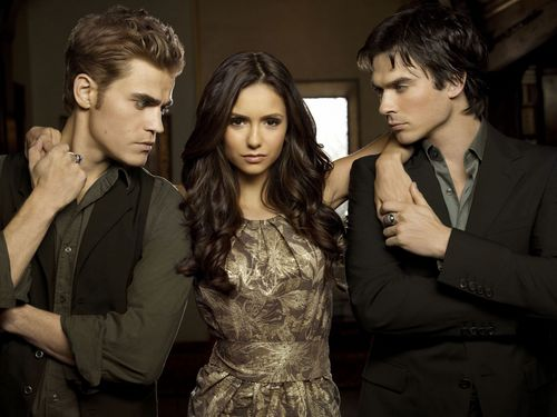 Vampire Diaries karatasi la kupamba ukuta entitled The Vampire Diaries