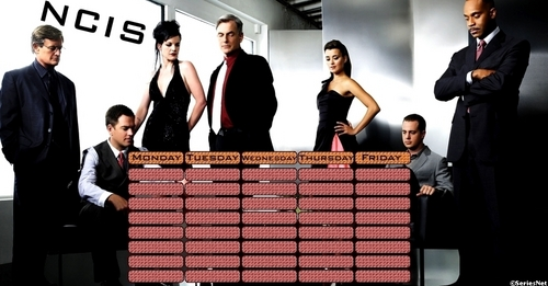 ncis fondo de pantalla called Time tables
