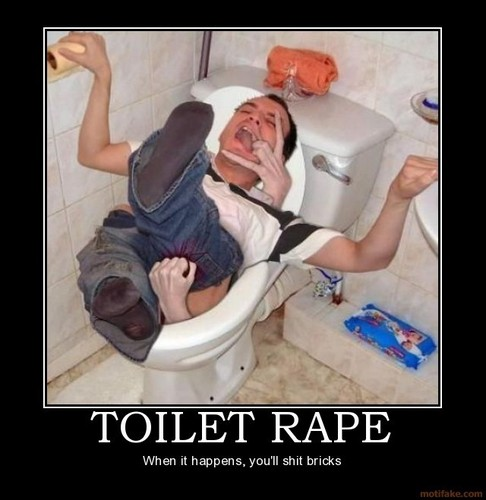 Toilet Rape!
