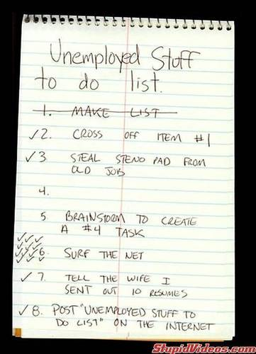 Unemployed List