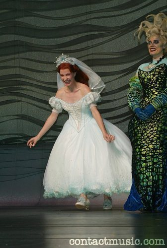 The Little Mermaid On Broadway Wallpaper Enled Wedding Dress 1