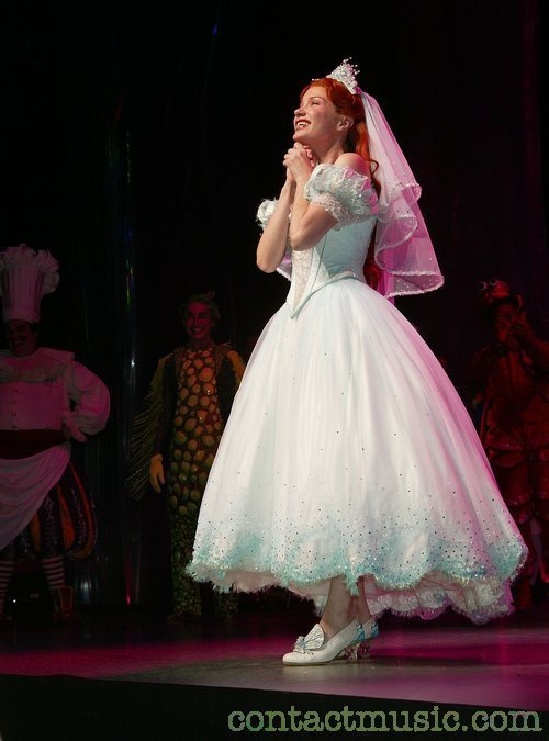 wedding dress 2 the little mermaid on broadway photo