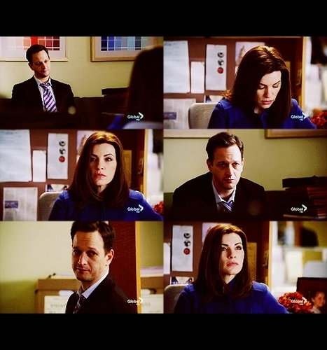 The Good Wife wallpaper titled Will & Alicia: 1x17 - Heart