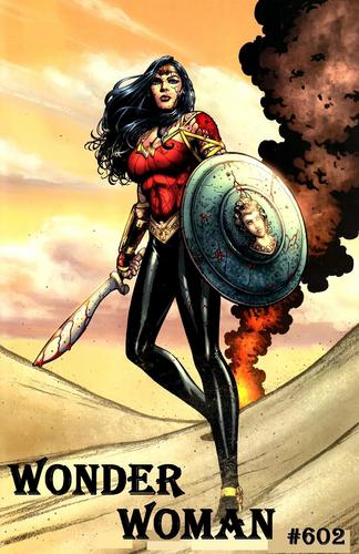 वंडर वुमन वॉलपेपर titled Wonder woman #602