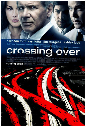 Harrison Ford achtergrond titled crOSSing oVer
