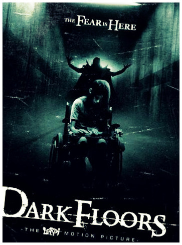 Horror films achtergrond titled dARk flooRs
