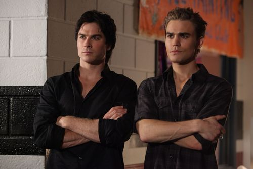 damon and stefan season 2 episode 2