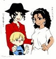 mike janet and mack - michael-jackson photo