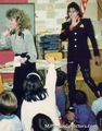 mikey at school,lmao - michael-jackson photo