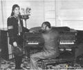 mikey loves the piano! - michael-jackson photo