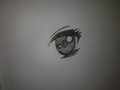 my drawing of a manga eye! - manga fan art