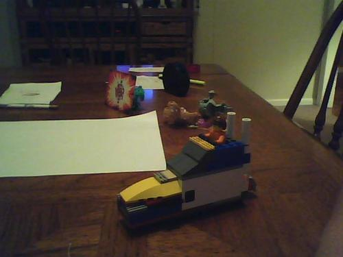 my lego personal boot