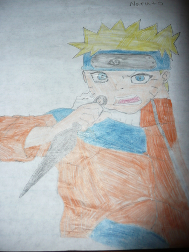 naruto drawing