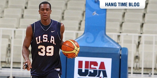 Rajon Rondo Hintergrund called rondo is already out of the USA team(