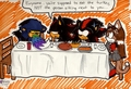shadow and freinds  - shadow-the-hedgehog photo