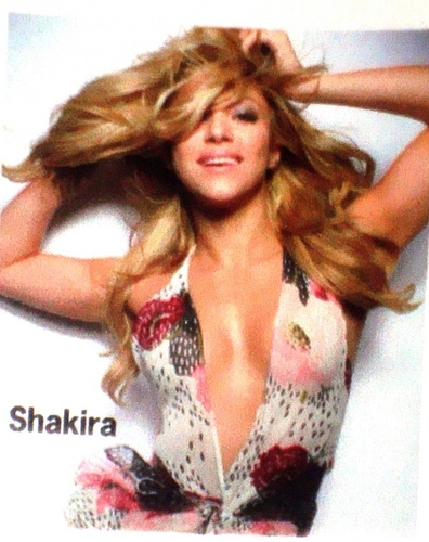 Shakira wallpaper titled shakira cosmo breast