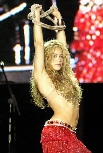 Shakira cosmo breast