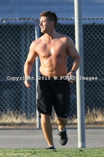 soccer shirtless