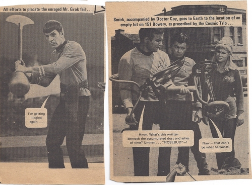 Star Trek 1976 Magazine scan