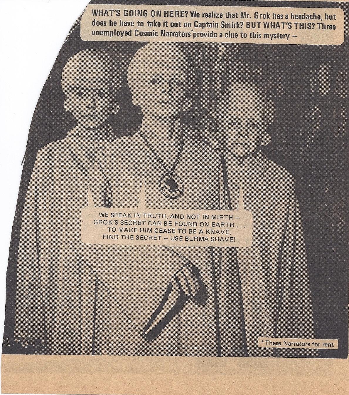 ngôi sao Trek 1976 Magazine scan