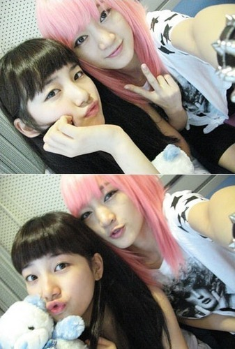 suzy&jia so cute