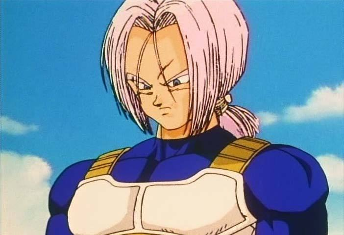 Future Trunks Long Hair