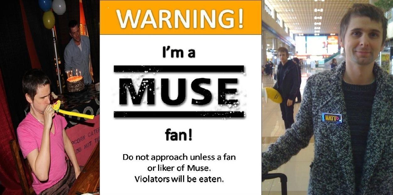 warning muse fan