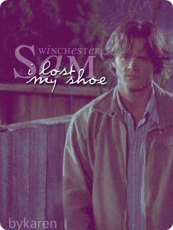 """""""I lost my shoe"""""""