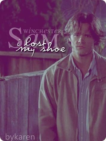 """I ロスト my shoe"""