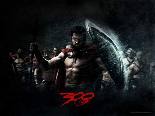 Action Films fondo de pantalla probably with anime called 300