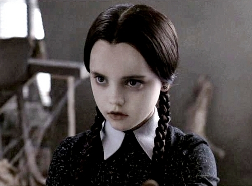 Wednesday Addams wallpaper probably with a well dressed person and a portrait titled 63